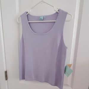 Sweater shell - lavendar